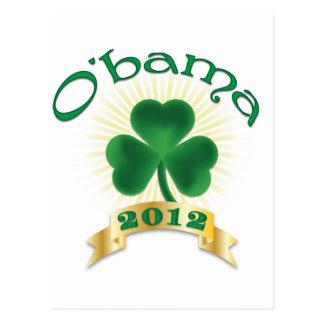 ObamaSHAMROCK Postcard