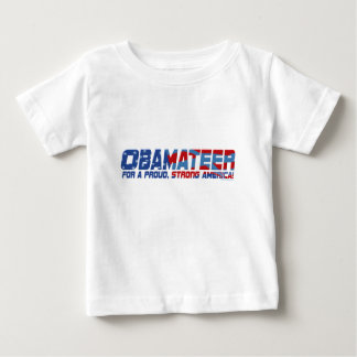 Obamateer Proud Strong Gear Baby T-Shirt