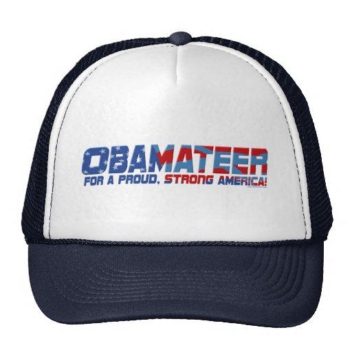 Obamateer Proud Strong Gear Trucker Hat