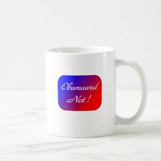 ¡Obamawed no! Tazas De Café