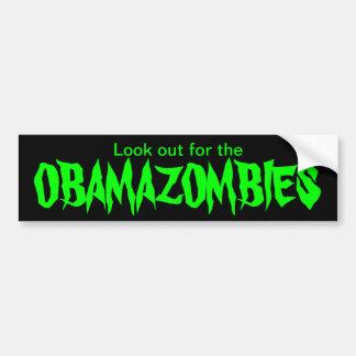 OBAMAZOMBIES BUMPER STICKER