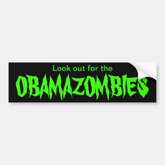 Obamazombies Pegatina Para Auto