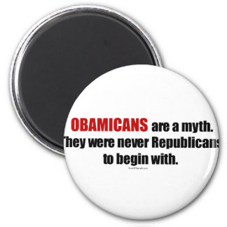 Obamicans es un mito ellos nunca era republicanos imán de frigorífico