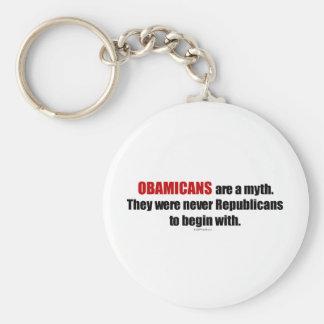 Obamicans es un mito ellos nunca era republicanos llavero