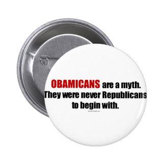 Obamicans es un mito ellos nunca era republicanos pins