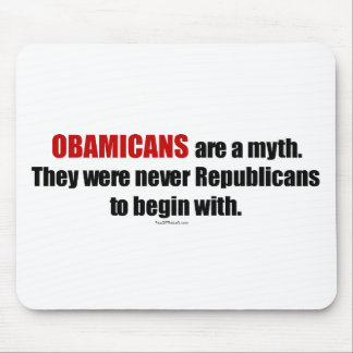 Obamicans es un mito ellos nunca era republicanos tapete de ratones