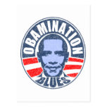 Obamination Blues Postcards