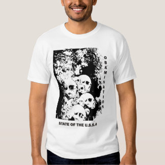 OBAMINATION - STATE OF THE USSA T-Shirt