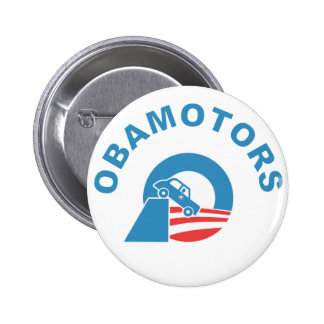 Obamotors 2 Inch Round Button