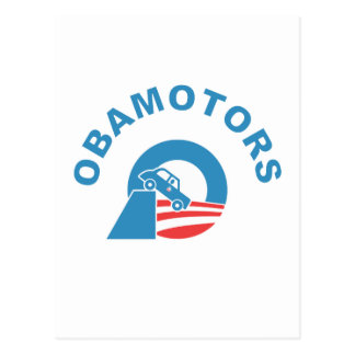 Obamotors Postcard