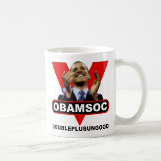 OBAMSOC COFFEE MUG