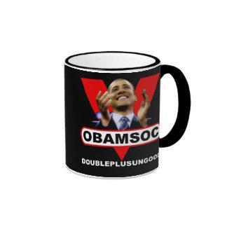 OBAMSOC RINGER COFFEE MUG
