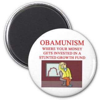 OBAMUNISM 2 INCH ROUND MAGNET