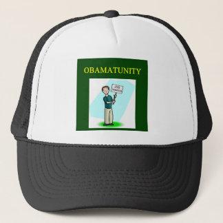 OBAMUNISM anti barack obama design Trucker Hat