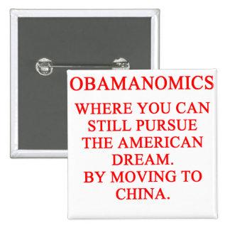 OBAMUNISM anti obama shirt 2 Inch Square Button