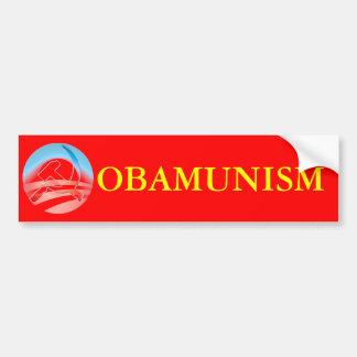 OBAMUNISM BUMPER STICKER