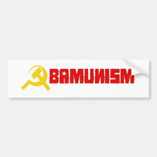 Obamunism Bumpersticker Bumper Sticker