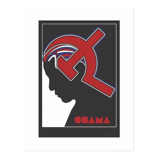 Obamunism Postcard