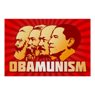 Obamunism Posters