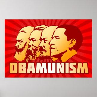 Obamunism Poster