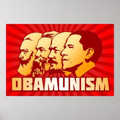 Obamunism Póster