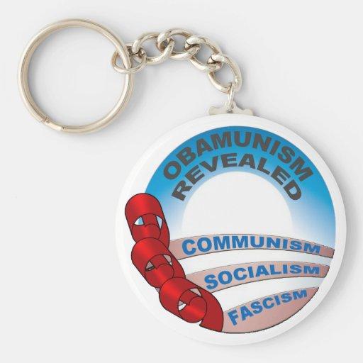 Obamunism revealed keychain