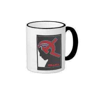 Obamunism Ringer Coffee Mug