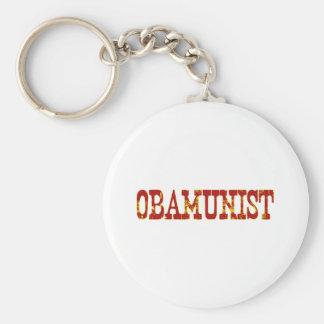 Obamunist (Socialism) Keychain