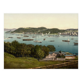 Oban Bay, Argyll and Bute, Scotland archival print