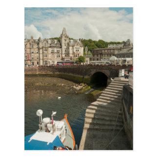 Oban Harbour Postcard