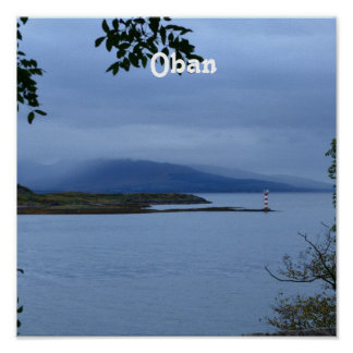Oban Posters