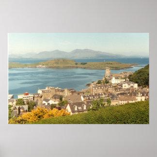 Oban, Scotland poster