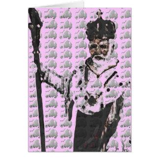 OBATALA KING OF THE ORISHAS GREETING CARD
