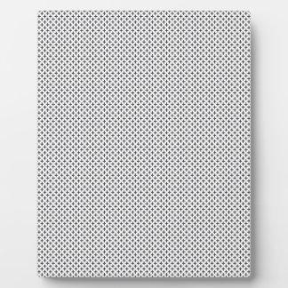 OBB black white cream patterns templates backgroun Plaque