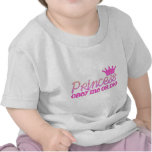 Obedezca a la princesa camisetas