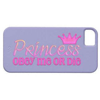 Obedezca a la princesa iPhone 5 Case-Mate fundas