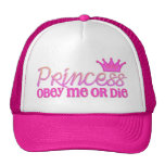 Obedezca a la princesa gorras