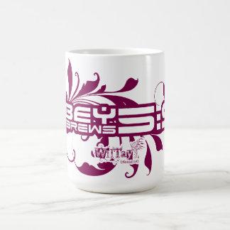 Obedezca el 5 9 de los hebreos tazas de café