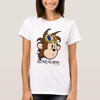 obedezca el mono playera