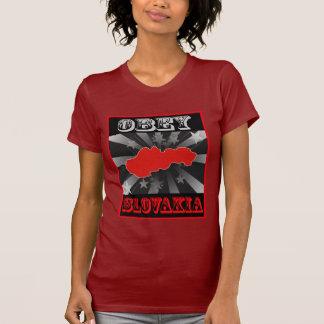 Obedezca Eslovaquia Camisetas