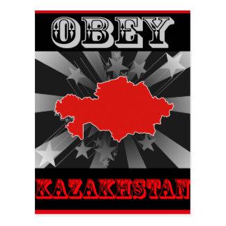 Obedezca Kazajistán Postales