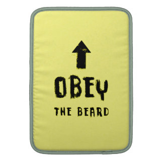 ¡Obedezca la barba! Funda MacBook