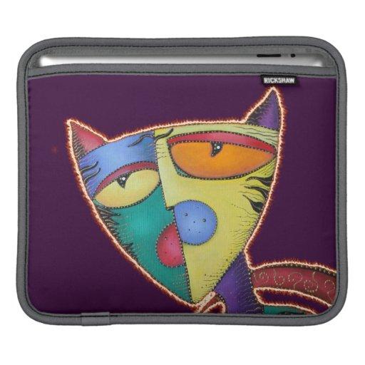 Obedezca la manga del carrito del gatito manga de iPad