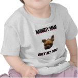 Obedezca mi perro camiseta