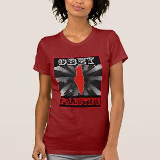 Obedezca Palestina Camisetas
