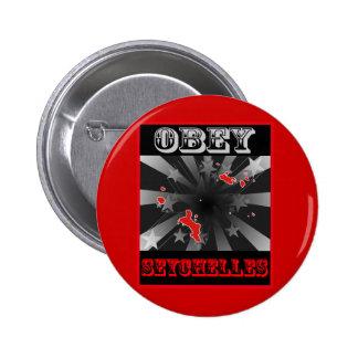 Obedezca Seychelles Pin