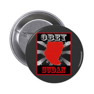 Obedezca Sudán Pins