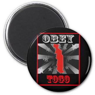 Obedezca Togo Imán Para Frigorífico