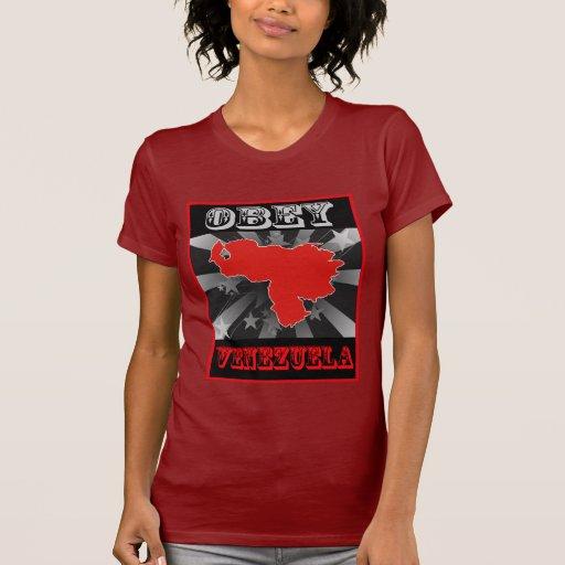 Obedezca Venezuela Camisetas