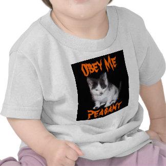 Obedézcame campesino camiseta
